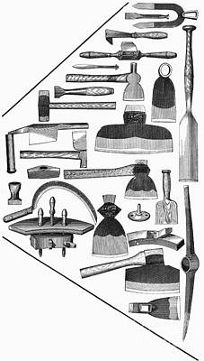 Hand Tools, 1876 Art Print