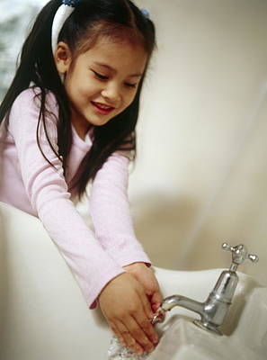 Years Old House Photograph - Hand Washing by Ian Boddy