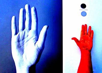 Hand Made Digital Art - Handmade In America by Randall Weidner