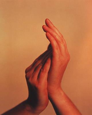 Applaud Photograph - Hands by Cristina Pedrazzini