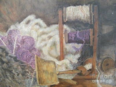 Painting - Handspun by Delores Swanson