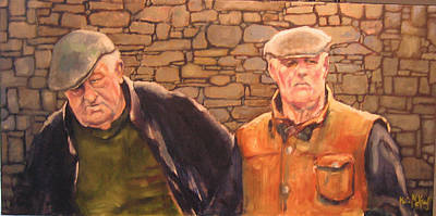 Painting - Hanging Out In Killarney by Kevin McKrell