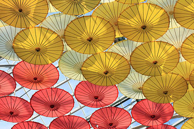 Photograph - Hanging Parasol II by Mary Haber