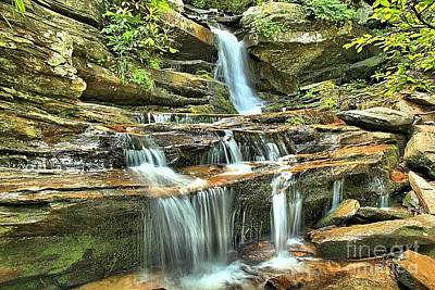 Photograph - Hanging Rock Cascades by Adam Jewell