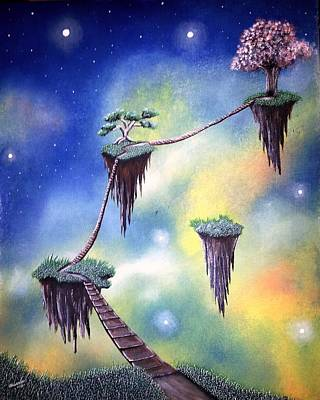 Hanging Together Art Print by Edwin Alverio