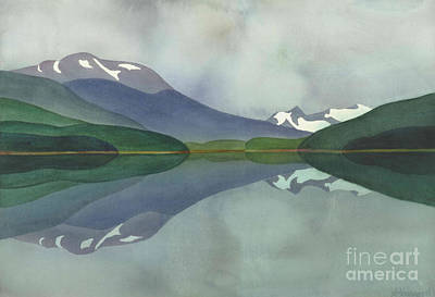 Painting - Hankin Lake by Anne Havard