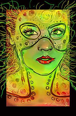 Casey Digital Art - Hanna  by Melissa Wyatt