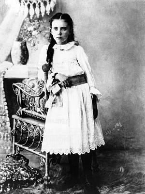 Hannah Milhaus At The Age Of 10. The Art Print