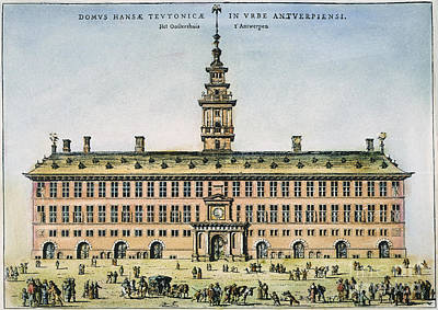 Hanseatic League, Antwerp Art Print by Granger
