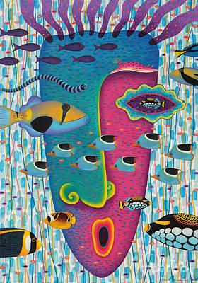Happiness 3 Art Print by Opas Chotiphantawanon