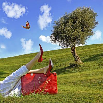 Happiness Of Summer Art Print by Joana Kruse