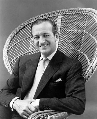 1959 Movies Photograph - Happy Anniversary, David Niven, 1959 by Everett