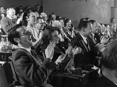 Applaud Photograph - Happy Audience by Bert Hardy