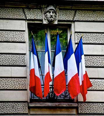 Photograph - Happy Bastille Day by Eric Tressler