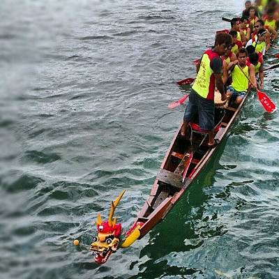 Dragon Photograph - Happy Dragon Boat Festival! by Cheryl Cheung