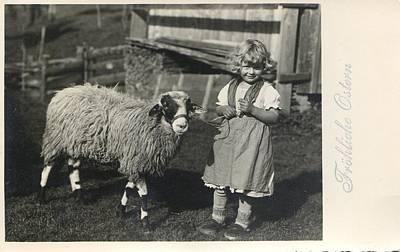 Happy Easter 1935 Art Print