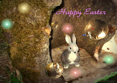 Photograph - Happy Easter 2012 by Joyce Dickens