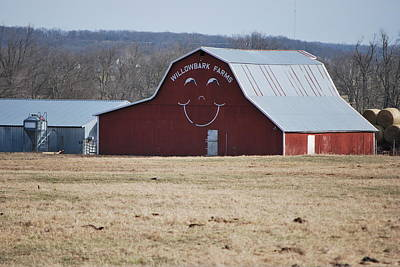 Happy Farm Print by Michele Carter