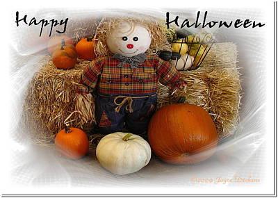 Photograph - Happy Halloween 4 by Joyce Dickens