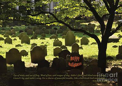 Photograph - Happy Halloween by Cheryl McClure