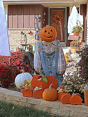 Photograph - Happy Halloween by Kay Novy
