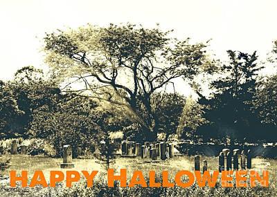 Digital Art - Happy Halloween by Lizi Beard-Ward