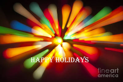 Photograph - Happy Holidays Card by Glenn Gordon