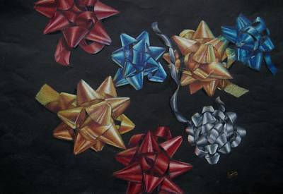 Drawing - Happy Holidays by Joanna Gates