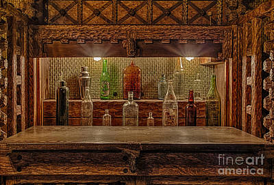 Woodcarving Photograph - Happy Hour by Susan Candelario
