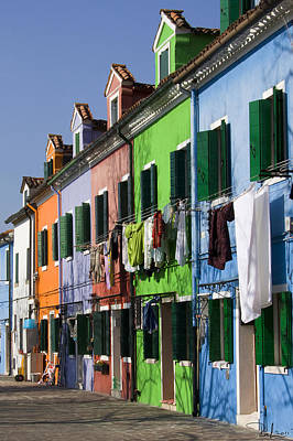 Photograph - Happy Houses by Raffaella Lunelli