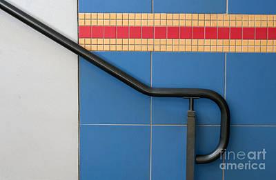 Stair-rail Photograph - Happy Landing by Dan Holm