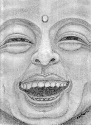 Pencil Drawing - Happy Life by Cheppy Japz