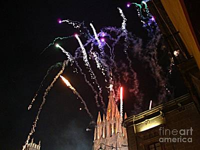 Art Print featuring the photograph Happy New Year by John  Kolenberg
