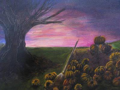 Happy Samhain Art Print