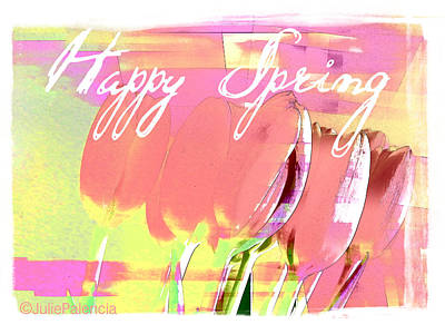 Photograph - Happy Spring by Julie Palencia