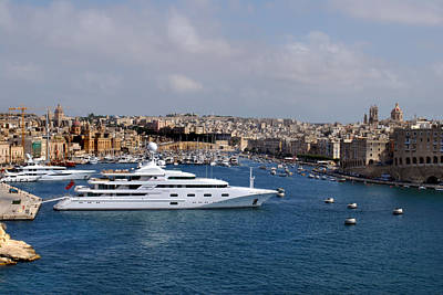 Photograph - Harbour Valletta. by Terence Davis