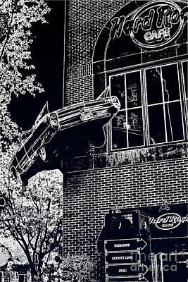 Art Print featuring the photograph Hard Rock Caddy by Joe Finney