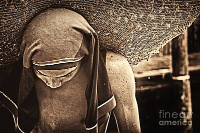 Photograph - Hard Work by Charuhas Images