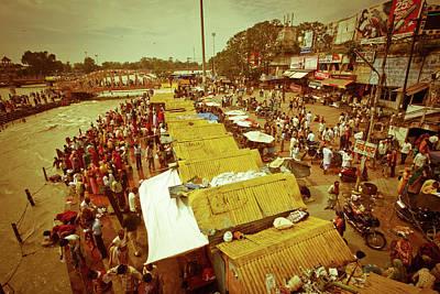 Ashram Wall Art - Photograph - Hardware Ganges by John Battaglino