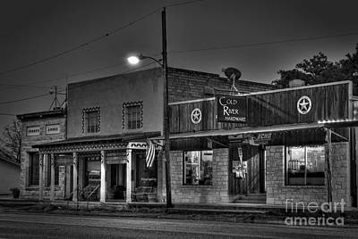 Hardware Store In Small Town Usa Art Print by Andre Babiak