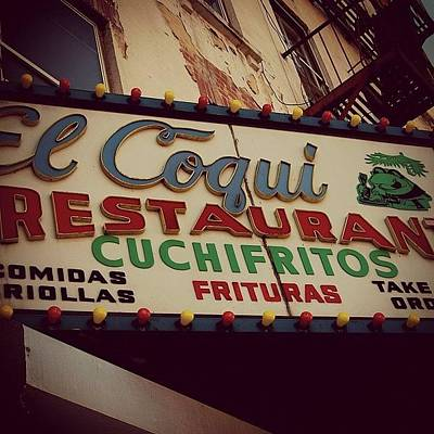 Restaurant Wall Art - Photograph - Harlem Ny by Joel Lopez