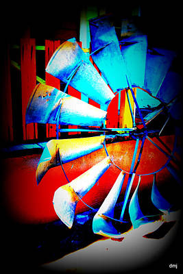 Photograph - Harlequin Wind  by Diane montana Jansson
