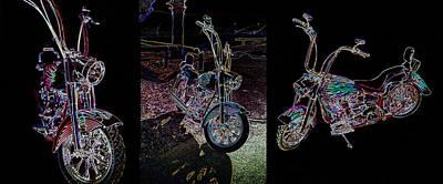Photograph - Harley by Charles Benavidez