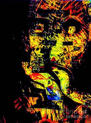 Harmonic Man 12 Art Print