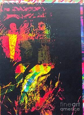 Harmonica Man 5 Art Print
