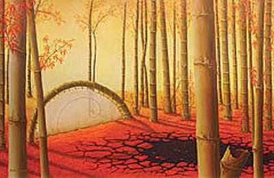Post Apocalyptic Painting - Harmony by Eugenia Castaneda