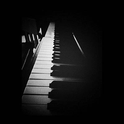 Piano Wall Art - Photograph - Harmony ...#iphonesia #instagram by R Ra