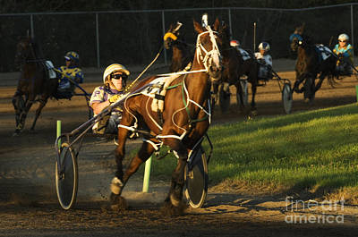 Harness Racing Photograph - Harness Racing 4 by Bob Christopher
