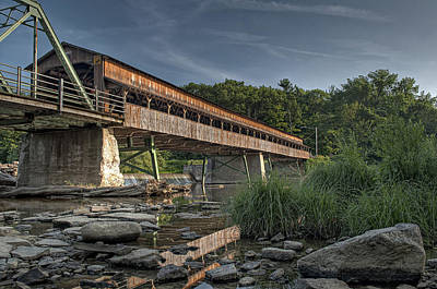 Photograph - Harpersfield Road Bridge by At Lands End Photography