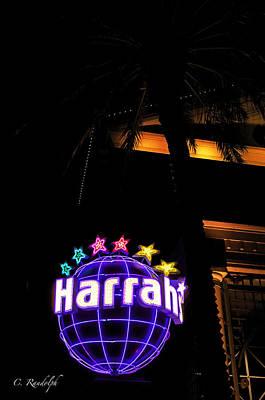 Photograph - Harrah's by Cheri Randolph